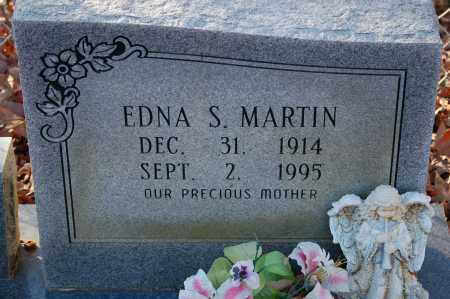 MARTIN, EDNA S - Grant County, Arkansas | EDNA S MARTIN - Arkansas Gravestone Photos