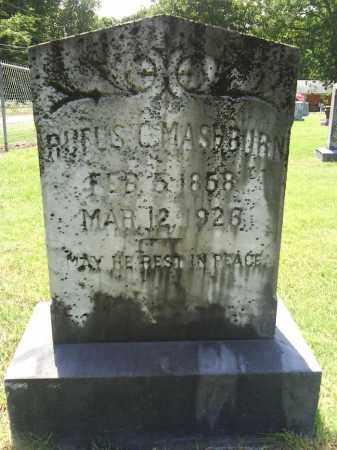 MASHBURN, RUFUS C. - Grant County, Arkansas | RUFUS C. MASHBURN - Arkansas Gravestone Photos