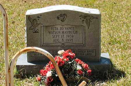 VANCE MAYHUGH, RITA JO - Grant County, Arkansas | RITA JO VANCE MAYHUGH - Arkansas Gravestone Photos
