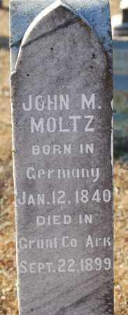 MOLTZ, JOHN M. - Grant County, Arkansas | JOHN M. MOLTZ - Arkansas Gravestone Photos
