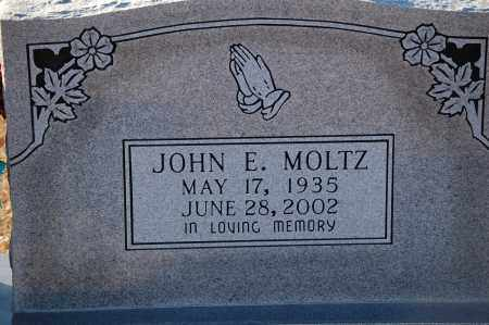 MOLTZ, JOHN E - Grant County, Arkansas | JOHN E MOLTZ - Arkansas Gravestone Photos