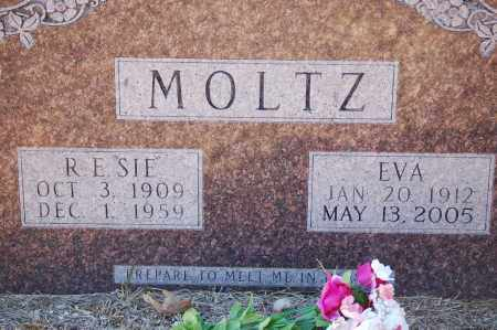 "MOLTZ, R. E. ""SIE"" - Grant County, Arkansas 