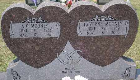 MOONEY, A.C. - Grant County, Arkansas | A.C. MOONEY - Arkansas Gravestone Photos