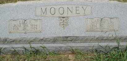 MOONEY, LEO - Grant County, Arkansas | LEO MOONEY - Arkansas Gravestone Photos