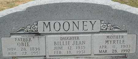 MOONEY, MYRTLE - Grant County, Arkansas | MYRTLE MOONEY - Arkansas Gravestone Photos