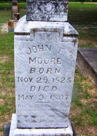MOORE, JOHN F - Grant County, Arkansas | JOHN F MOORE - Arkansas Gravestone Photos