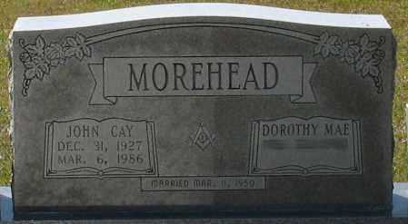 MOREHEAD, JOHN CAY - Grant County, Arkansas | JOHN CAY MOREHEAD - Arkansas Gravestone Photos