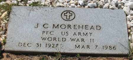 MOREHEAD (VETERAN WWII), JOHN CAY - Grant County, Arkansas | JOHN CAY MOREHEAD (VETERAN WWII) - Arkansas Gravestone Photos