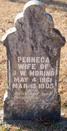 MORING, PERNECA - Grant County, Arkansas | PERNECA MORING - Arkansas Gravestone Photos