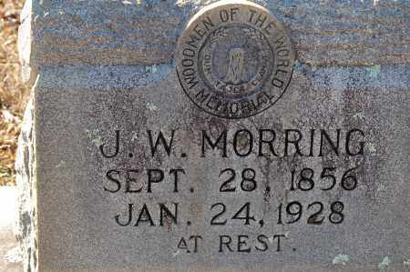MORRING, J. W. - Grant County, Arkansas | J. W. MORRING - Arkansas Gravestone Photos