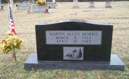MORRIS, MARTIN ALLEN - Grant County, Arkansas | MARTIN ALLEN MORRIS - Arkansas Gravestone Photos