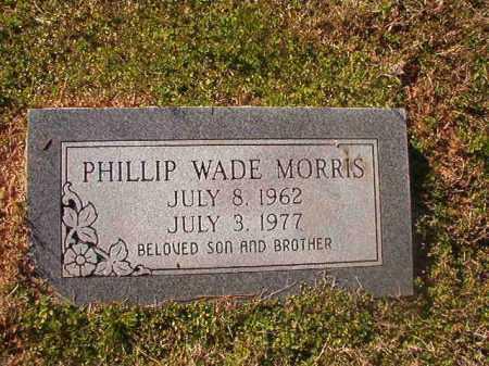 MORRIS, PHILLIP WADE - Grant County, Arkansas | PHILLIP WADE MORRIS - Arkansas Gravestone Photos