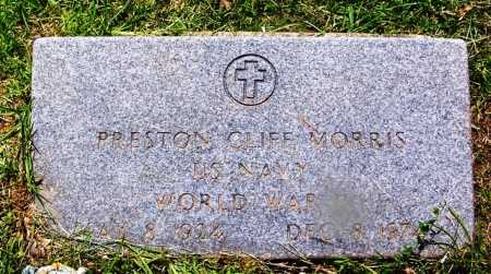 MORRIS (VETERAN WWII), PRESTON CLIFF - Grant County, Arkansas | PRESTON CLIFF MORRIS (VETERAN WWII) - Arkansas Gravestone Photos