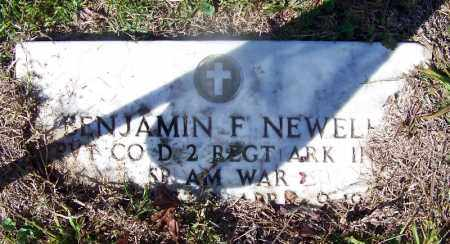 NEWELL (VETERAN SAW), BENJAMIN F - Grant County, Arkansas | BENJAMIN F NEWELL (VETERAN SAW) - Arkansas Gravestone Photos