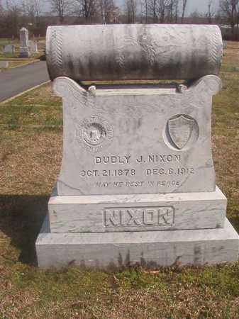 NIXON, DUDLY J - Grant County, Arkansas | DUDLY J NIXON - Arkansas Gravestone Photos