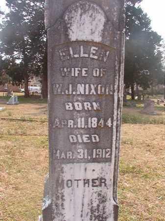 NIXON, ELLEN - Grant County, Arkansas | ELLEN NIXON - Arkansas Gravestone Photos