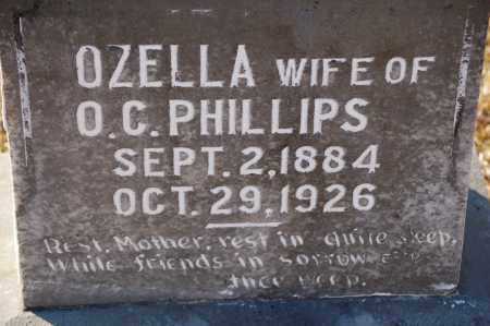 PHILLIPS, OZELLA - Grant County, Arkansas | OZELLA PHILLIPS - Arkansas Gravestone Photos