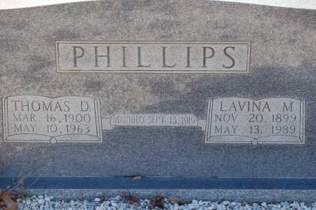 PHILLIPS, LAVINA M - Grant County, Arkansas | LAVINA M PHILLIPS - Arkansas Gravestone Photos