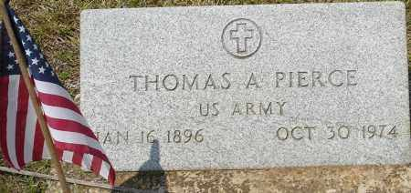 PIERCE  (VETERAN), THOMAS - Grant County, Arkansas | THOMAS PIERCE  (VETERAN) - Arkansas Gravestone Photos