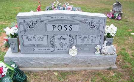 "POSS, DONALD R ""DUCK"" - Grant County, Arkansas | DONALD R ""DUCK"" POSS - Arkansas Gravestone Photos"