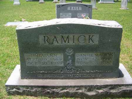 RAMICK, JULIA ANN - Grant County, Arkansas | JULIA ANN RAMICK - Arkansas Gravestone Photos