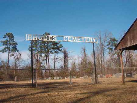 *RHODES CEMETERY,  - Grant County, Arkansas |  *RHODES CEMETERY - Arkansas Gravestone Photos