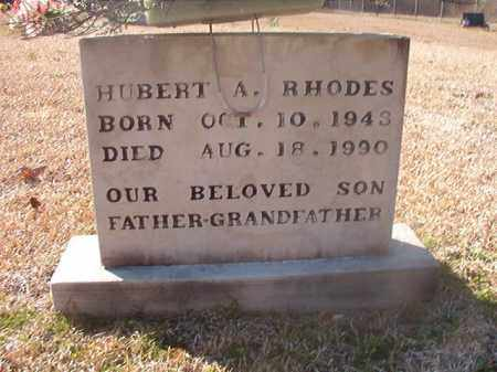 RHODES, HUBERT A - Grant County, Arkansas | HUBERT A RHODES - Arkansas Gravestone Photos