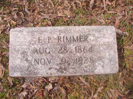 RIMMER, E P - Grant County, Arkansas | E P RIMMER - Arkansas Gravestone Photos
