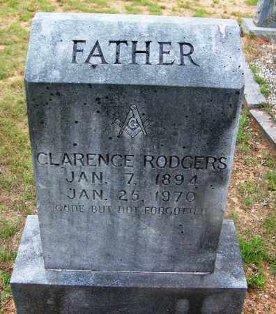 RODGERS, CLARENCE - Grant County, Arkansas | CLARENCE RODGERS - Arkansas Gravestone Photos