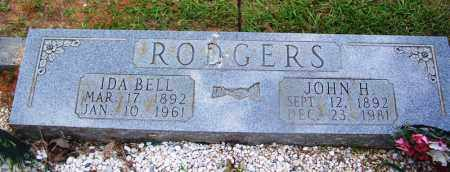 RODGERS, JOHN H - Grant County, Arkansas | JOHN H RODGERS - Arkansas Gravestone Photos