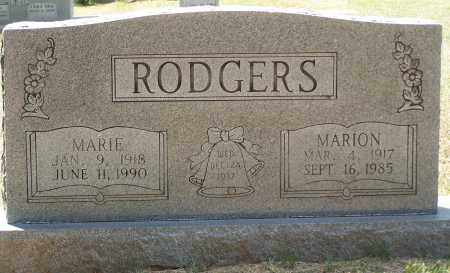 RODGERS, MARIE - Grant County, Arkansas | MARIE RODGERS - Arkansas Gravestone Photos