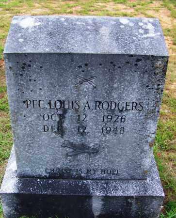 RODGERS (VETERAN), LOUIS A - Grant County, Arkansas | LOUIS A RODGERS (VETERAN) - Arkansas Gravestone Photos