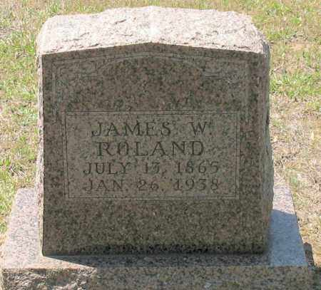 ROLAND, JAMES W. - Grant County, Arkansas | JAMES W. ROLAND - Arkansas Gravestone Photos
