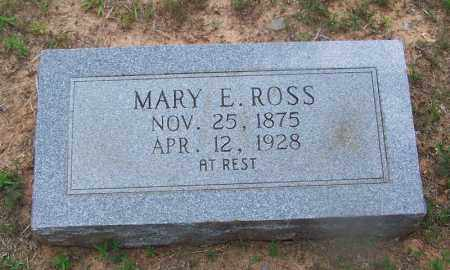 ROSS, MARY E - Grant County, Arkansas | MARY E ROSS - Arkansas Gravestone Photos