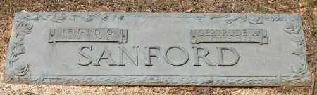 SANFORD, LENARD G. - Grant County, Arkansas | LENARD G. SANFORD - Arkansas Gravestone Photos