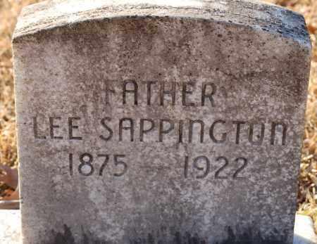 SAPPINGTON, LEE - Grant County, Arkansas | LEE SAPPINGTON - Arkansas Gravestone Photos