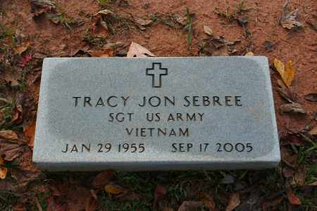 SEBREE  (VETERAN VIET), TRACY JON - Grant County, Arkansas | TRACY JON SEBREE  (VETERAN VIET) - Arkansas Gravestone Photos