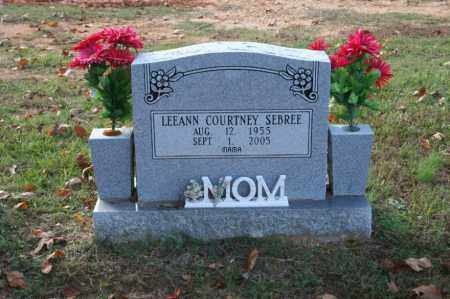 COURTNEY SEBREE, LEEANN - Grant County, Arkansas | LEEANN COURTNEY SEBREE - Arkansas Gravestone Photos