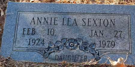 SEXTON, ANNIE LEA - Grant County, Arkansas | ANNIE LEA SEXTON - Arkansas Gravestone Photos