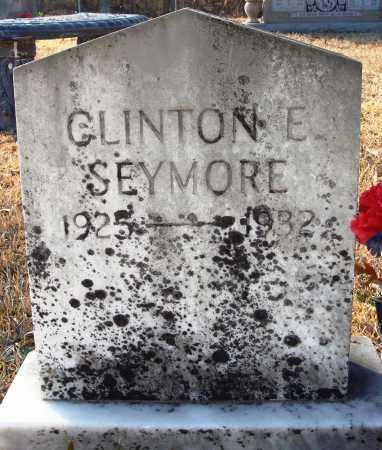 SEYMORE, CLINTON E. - Grant County, Arkansas | CLINTON E. SEYMORE - Arkansas Gravestone Photos