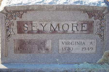 SEYMORE, VIRGINIA A - Grant County, Arkansas | VIRGINIA A SEYMORE - Arkansas Gravestone Photos