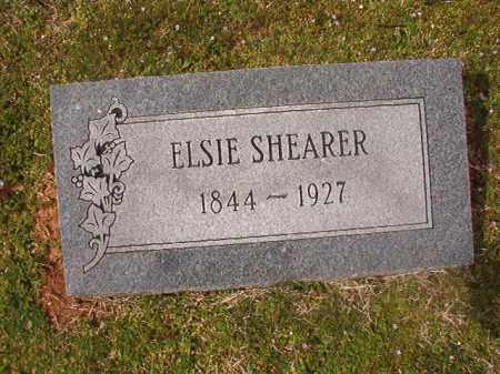 SHEARER, ELSIE - Grant County, Arkansas | ELSIE SHEARER - Arkansas Gravestone Photos