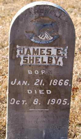 SHELBY, JAMES E. - Grant County, Arkansas | JAMES E. SHELBY - Arkansas Gravestone Photos