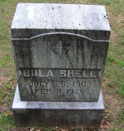 SHELL, BULA - Grant County, Arkansas | BULA SHELL - Arkansas Gravestone Photos