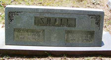 SHELL, CLAUDE IRVING - Grant County, Arkansas | CLAUDE IRVING SHELL - Arkansas Gravestone Photos