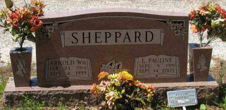 SHEPPARD, ARNOLD WILLIAM - Grant County, Arkansas | ARNOLD WILLIAM SHEPPARD - Arkansas Gravestone Photos