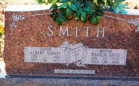 DAVIS SMITH, MANILA - Grant County, Arkansas | MANILA DAVIS SMITH - Arkansas Gravestone Photos