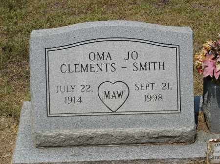 CRENSHAW SMITH, OMA JO - Grant County, Arkansas | OMA JO CRENSHAW SMITH - Arkansas Gravestone Photos