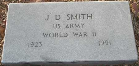 SMITH (VETERAN WWII), J D - Grant County, Arkansas | J D SMITH (VETERAN WWII) - Arkansas Gravestone Photos