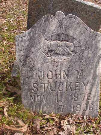 STUCKEY, JOHN M - Grant County, Arkansas | JOHN M STUCKEY - Arkansas Gravestone Photos